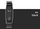 Ремешок Xiaomi Mi Band 2 MiJobs Metal металлический крупное звено Черный [1908], фото 2