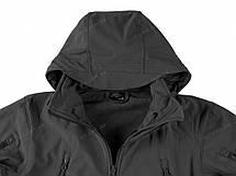 Демісезонна тактична куртка Helikon-Tex® GUNFIGHTER Windblocker® Soft Shell (темно синій), фото 3