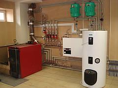 Как работает самотечная система отопления с естественной циркуляцией?