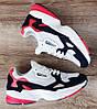 Жіночі кросівки Adidas Falcon Navy/Red/White Остання пара 39 - на ногу 25см в ідеалі, фото 5