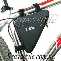 Велосумка под раму B-soul Черная