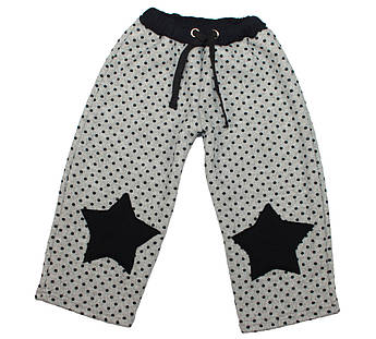 Детские штаны, трехнитка на меху. Штаны для ребенка | Дитячі штани. Штани для дитини 48(24)