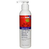 Очищающее средство с папайя от морщин  Derma E 175 мл