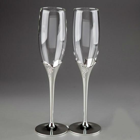 Свадебные бокалы Гроздья