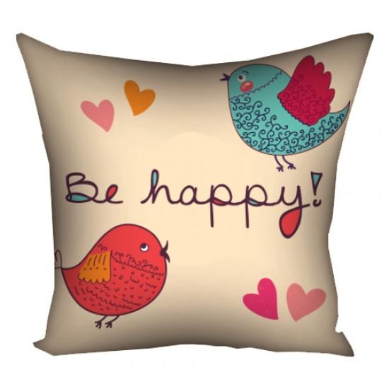 Подушка Be happy 30х30 см