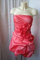 Платье мини нарядное коктейльное бренд Forever21 р.44-46