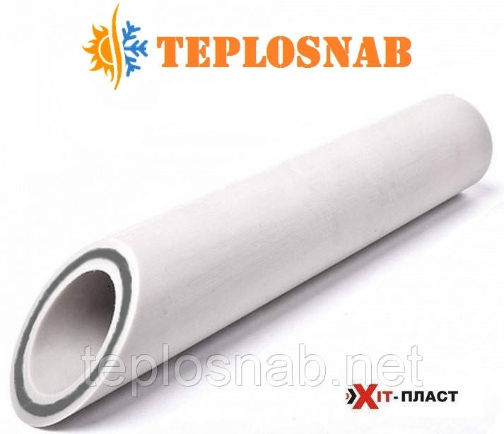 Труба скловолокно Хіт Пласт PN 16 Ø 63 х 8,6 PPR/GF/PPR для опалення