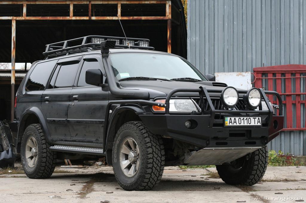 Тюнинг Mitsubishi Pajero Sport от AWD-tuning