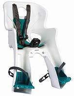 Сиденье переднее BELLELLI Rabbit sportfix детское до 15кг (белый, бирюзовая подкладка)