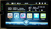 Магнітола автомобільна ZIRY 7880S 2din, сенсорний екран 7 дюймів, фото 1