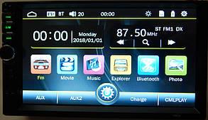 Магнитола автомобильная ZIRY 7880S 2din, сенсорный экран 7 дюймов