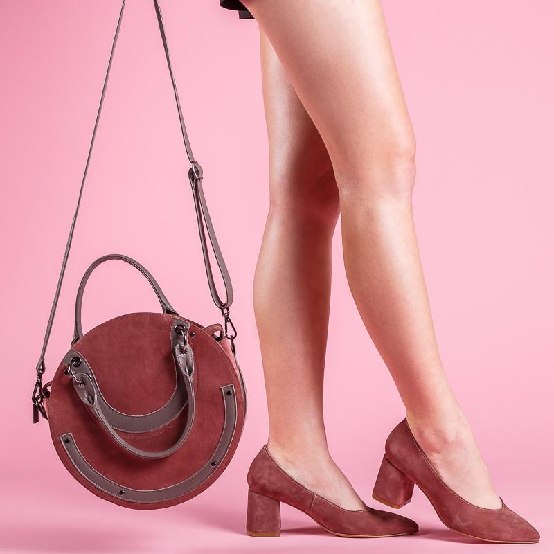 6c244cf98 Женские замшевые туфли-лодочки на среднем каблуке. Натуральная кожа, замша.  Цвет любой
