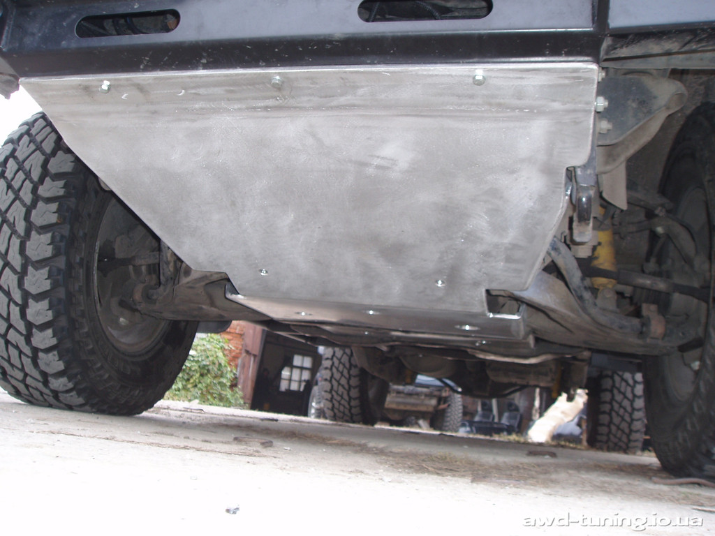 Тюнинг Mitsubishi Pajero Sport от AWD-tuning 4