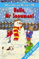 Way Ahead Readers Level 2C Hello Mr. Snowman