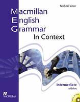 Macmillan English Grammar In Context Intermediate With Key