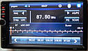 Магнітола автомобільна ZIRY 7010b 2din, сенсорний екран 7 дюймів, фото 2