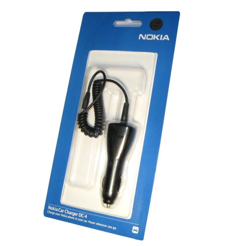 АЗУ Nokia DC-4 (6101) (ориг блистер) черная
