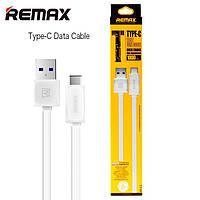 USB кабель Remax Fleet speed RT-C1 Type-C 1m белый (30064)