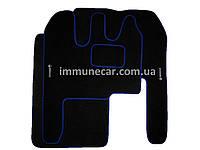 Велюровые коврики для RENAULT MAGNUM синие