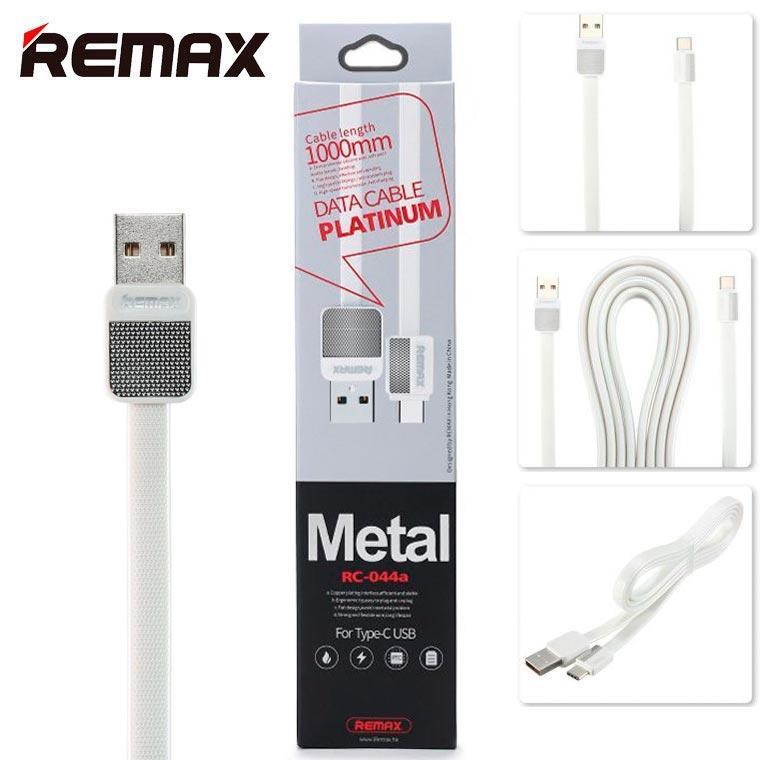 USB кабель Remax Platinum RC-044a Type-C 1m белый (30104)