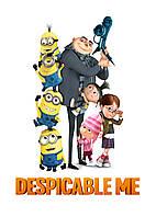 Картина GeekLand Despicable Me Гадкий Я постер к мультфильму 40х60см DM.09.001