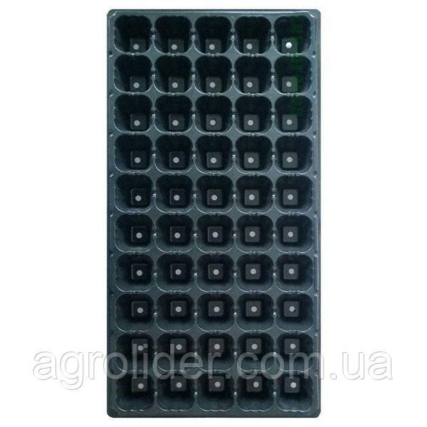 Кассета для рассады 50 ячеек (28*54 см) Т 1,0