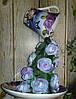 Ширяюча чашка Бузкова 2 декорована Подарунок на День закоханих