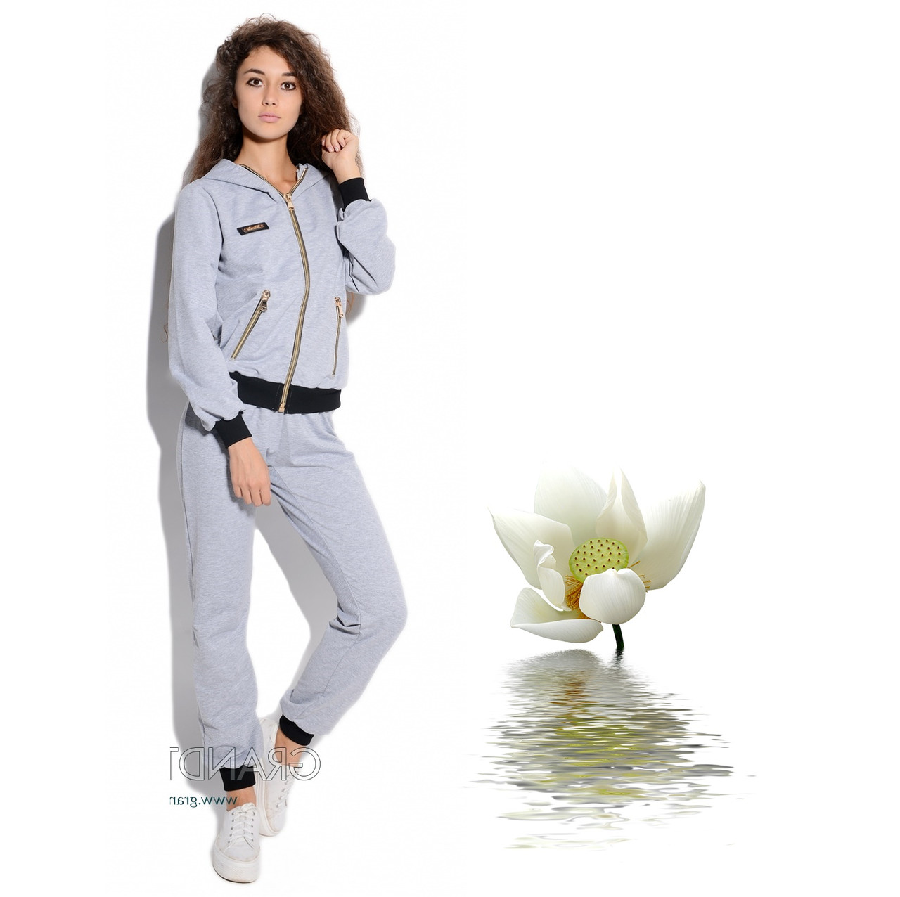 Спортивный женский костюм L 5894