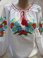 """Вышиванка на девочку """"Лето"""", 140-170 рост, 320\260 (цена за 1 шт. +60 гр.)"""