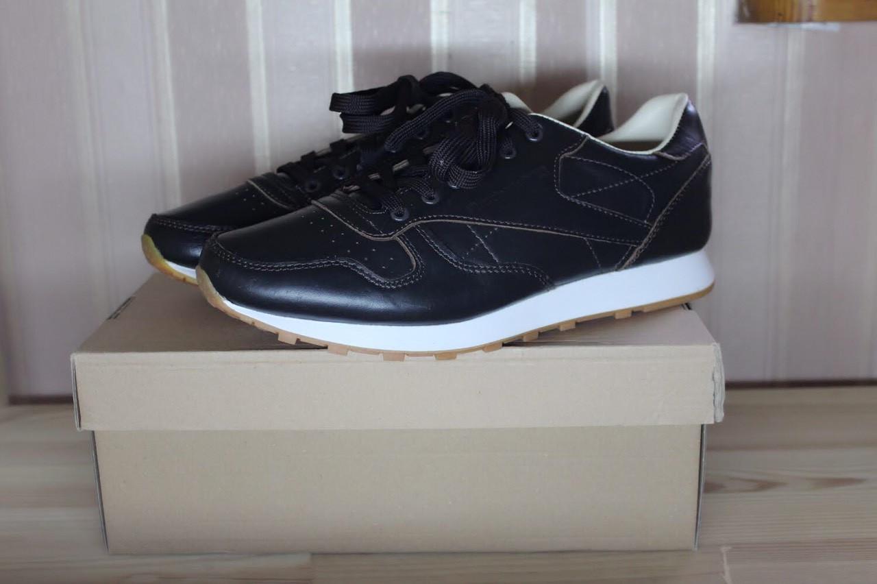 new concept 719d0 b623c Кроссовки Reebok Classic Leather мужские кожаные коричневые. [ 41 42 43 44  45 ]