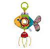 """Игрушка мягкая с подвеской """"Золотая рыбка"""" Balibazoo (Высота 12 см) , фото 5"""