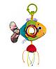 """Игрушка мягкая с подвеской """"Золотая рыбка"""" Balibazoo (Высота 12 см) , фото 2"""