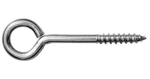 Шуруп с О-крюком 8*100 (50 шт), фото 2