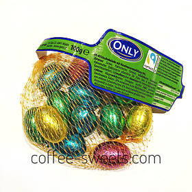 Шоколадные пасхальные яйца Small Eggs Only 100g