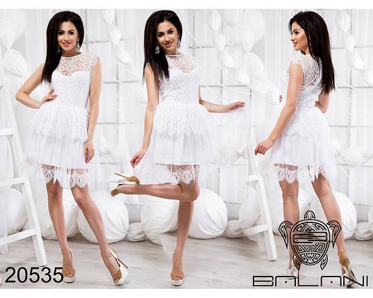 Белое платье из гипюра, фото 2