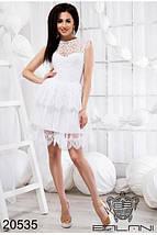 Белое платье из гипюра, фото 3