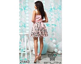 Розовое платье с пышной юбкой, фото 2