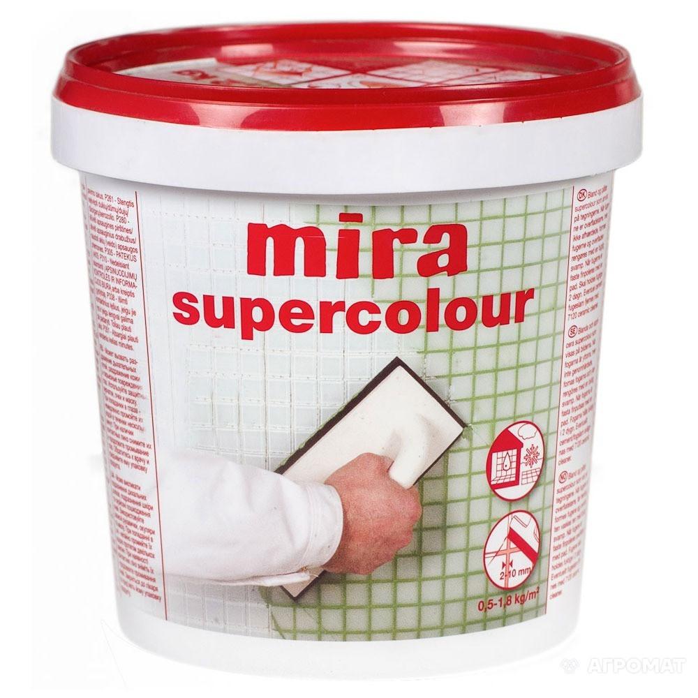 Затирка Mira  supercolour №160/1,2кг (светло-зеленая)