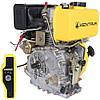 Двигатель Дизельный на мотоблок Кентавр (Kentavr) ДВЗ-300ДШЛЕ (6 л.с.) Электростартер на Шлицах, фото 2