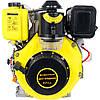 Двигатель Дизельный на мотоблок Кентавр (Kentavr) ДВЗ-300ДШЛЕ (6 л.с.) Электростартер на Шлицах, фото 4