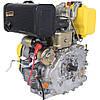 Двигатель Дизельный на мотоблок Кентавр (Kentavr) ДВЗ-300ДШЛЕ (6 л.с.) Электростартер на Шлицах, фото 5