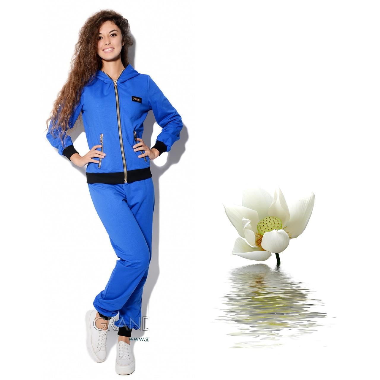 Спортивный женский костюм с капюшоном L 5894