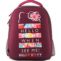 "Рюкзак ( ранец ) школьный каркасный ортопедический Kite "" Education "" Hello Kitty ( HK19-531M )"