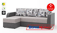 Диван угловой Baltika Matroluxe 1-Hollywood-11 LN, 2-Hollywood-05 LN, 3-Print 2