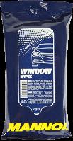 Салфетки для очистки стекла автомобиля Mannol Window Wipes