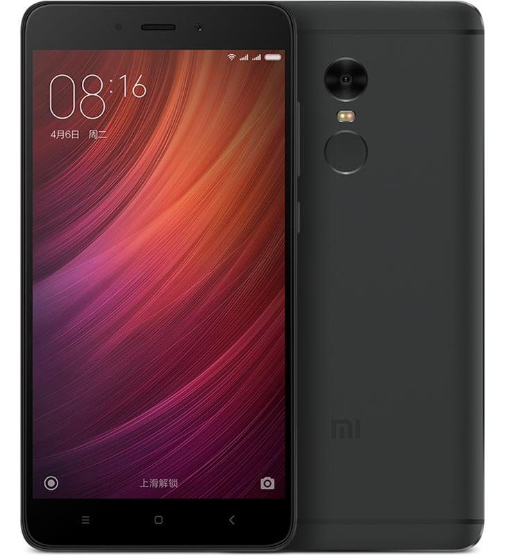 Xiaomi Redmi Note 4 3/64GB Black Global Rom