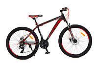Горный велосипед 26 Benetti Apex чёрно-красный