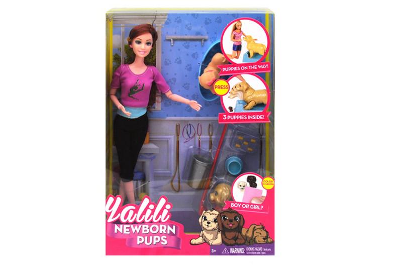 Кукла с с собачкой и аксессуарами