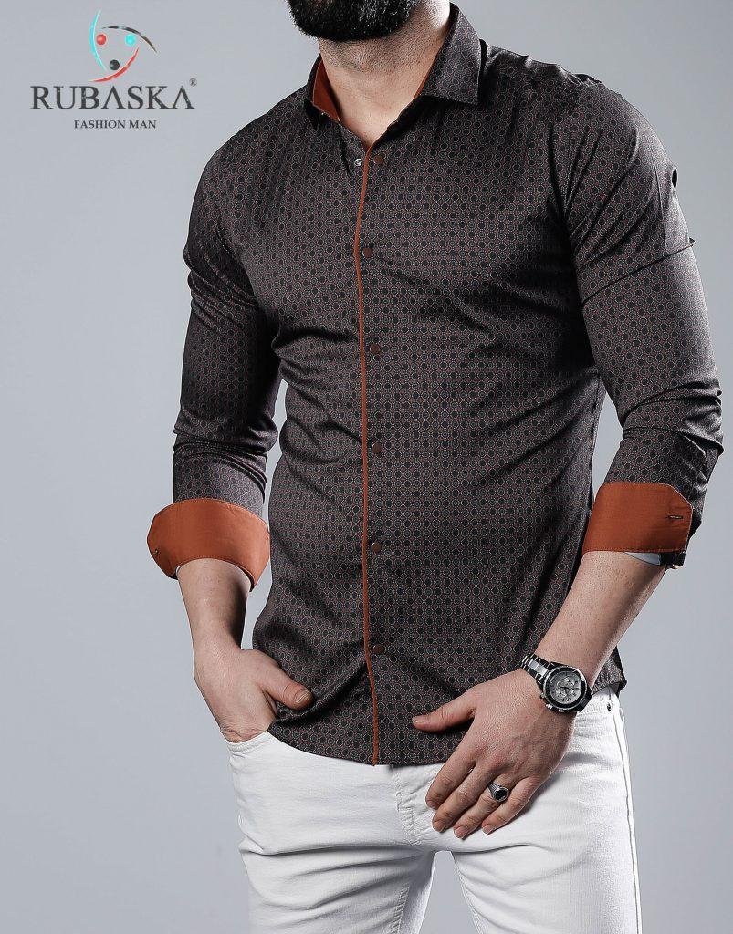 Нарядная мужская рубашка