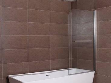 Шторка для ванны Aqua-World Pivot PV80B ДкПдв.80-Tr прозрачное стекло
